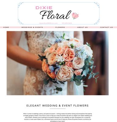 dixie floral website