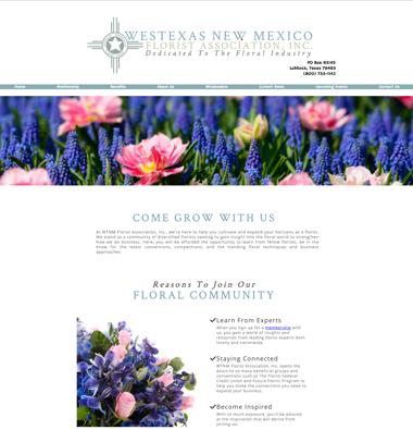 wedding florist association website